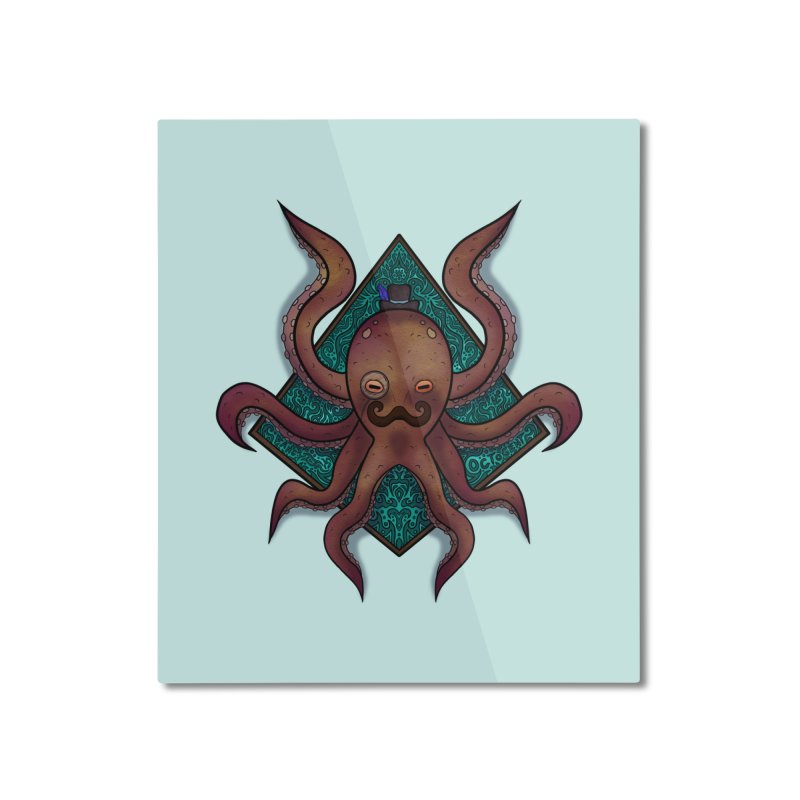 OCTOGENT Home Mounted Aluminum Print by greenlambart's Artist Shop
