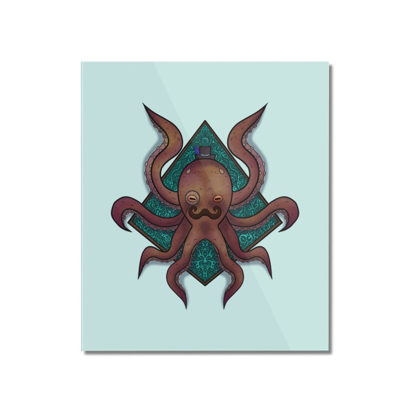 OCTOGENT Home Mounted Acrylic Print by greenlambart's Artist Shop
