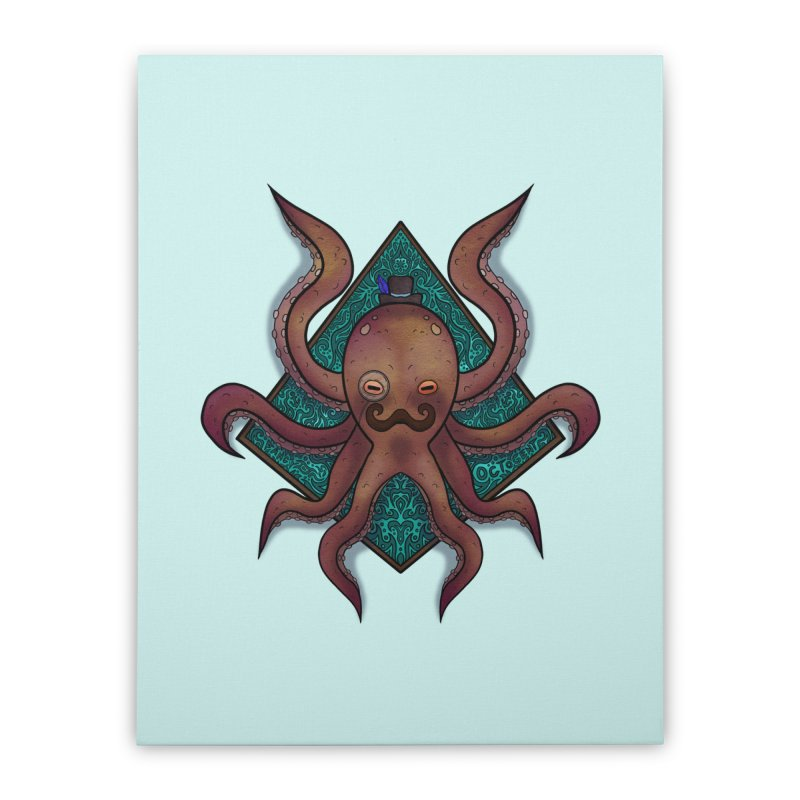 OCTOGENT Home Stretched Canvas by greenlambart's Artist Shop
