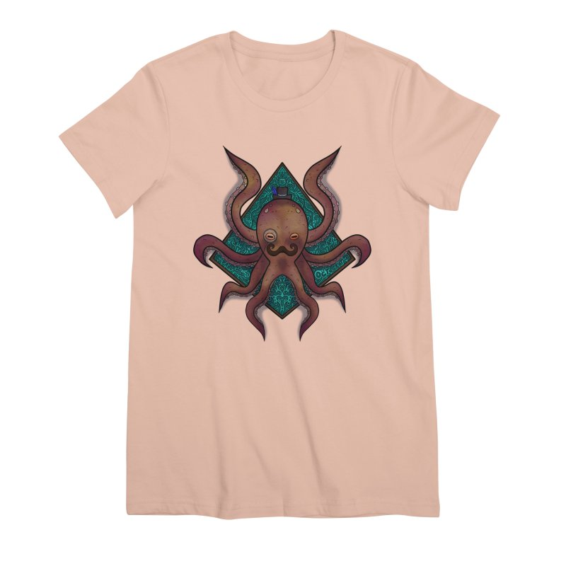 OCTOGENT Women's Premium T-Shirt by greenlambart's Artist Shop