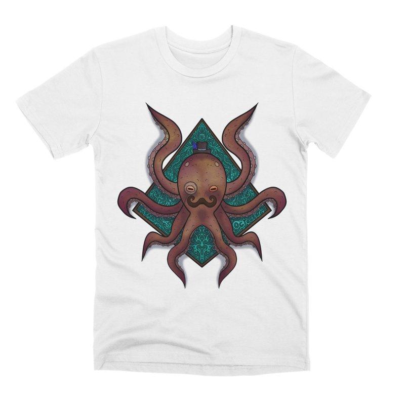OCTOGENT Men's Premium T-Shirt by greenlambart's Artist Shop