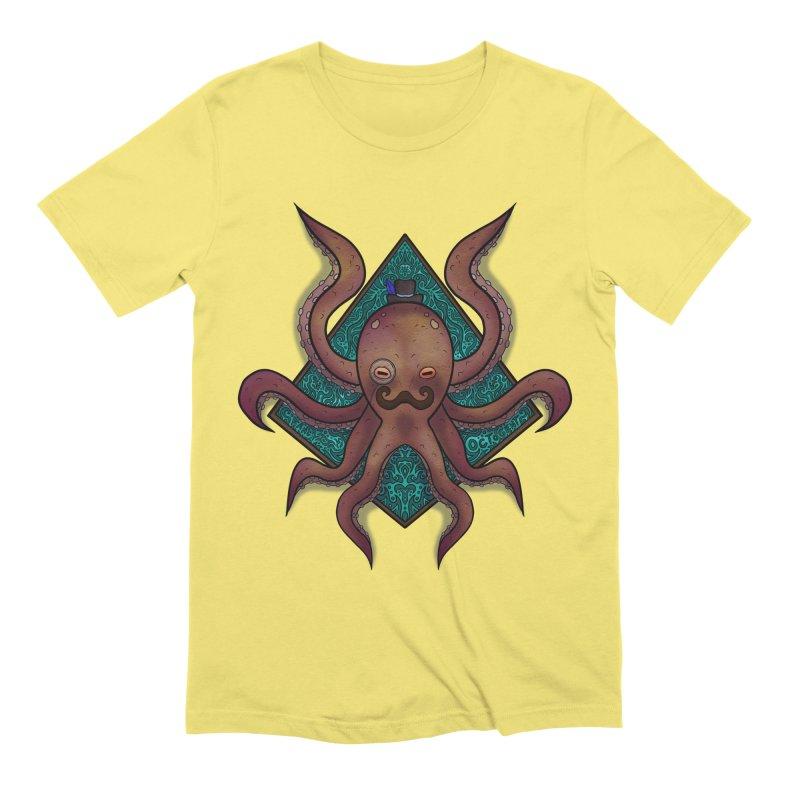 OCTOGENT Men's Extra Soft T-Shirt by greenlambart's Artist Shop
