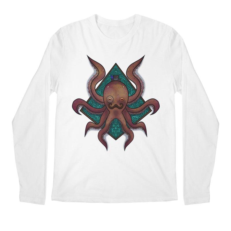 OCTOGENT Men's Regular Longsleeve T-Shirt by greenlambart's Artist Shop