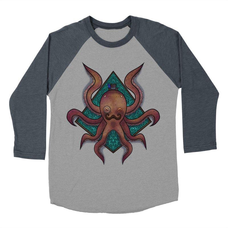 OCTOGENT Men's Baseball Triblend Longsleeve T-Shirt by greenlambart's Artist Shop