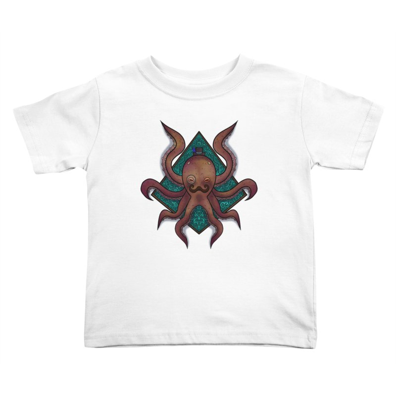 OCTOGENT Kids Toddler T-Shirt by greenlambart's Artist Shop