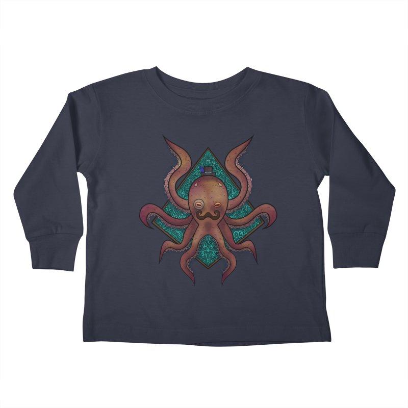 OCTOGENT Kids Toddler Longsleeve T-Shirt by greenlambart's Artist Shop