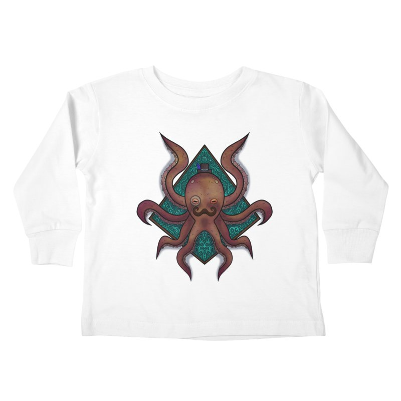 OCTOGENT Kids Toddler Longsleeve T-Shirt by greenlambart's Artist Shop