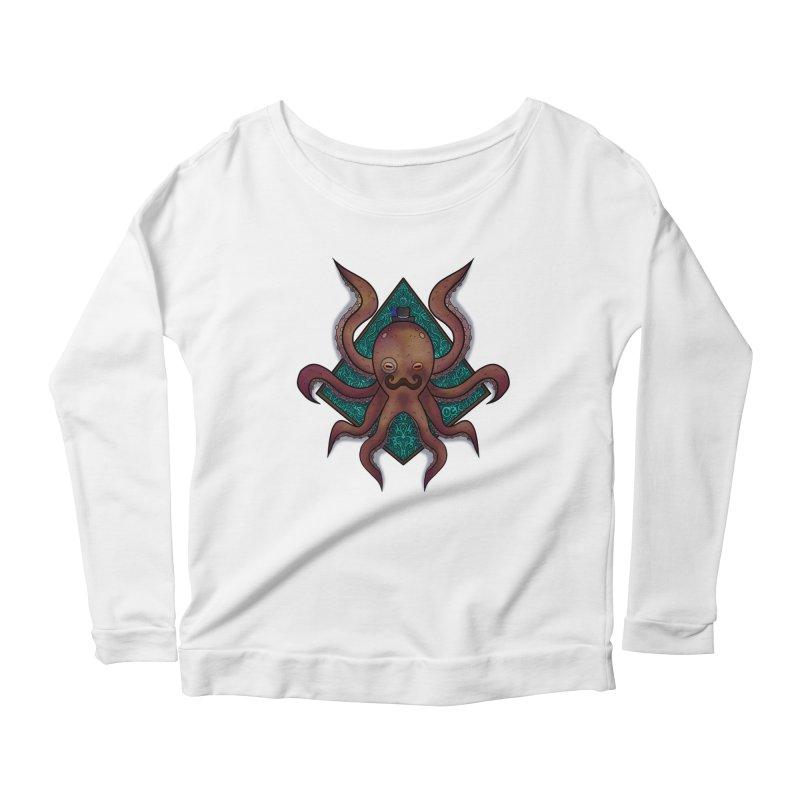 OCTOGENT Women's Scoop Neck Longsleeve T-Shirt by greenlambart's Artist Shop