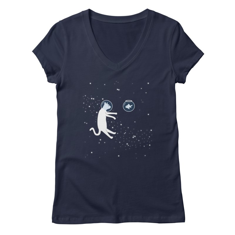 'Sup? Women's V-Neck by Magic Wand Studio