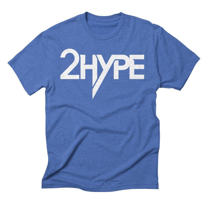 "2 Hype Logo Men's T-Shirt by Greg ""2 Hype"" Shop"