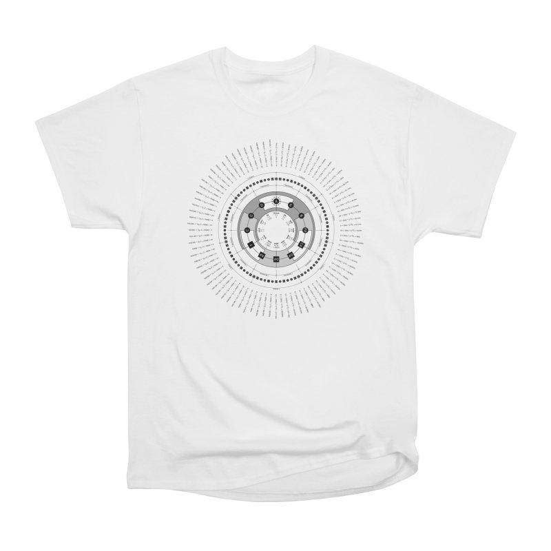 The Circle of Fifths - T-Shirt Men's Heavyweight T-Shirt by Greg Aranda's Shop