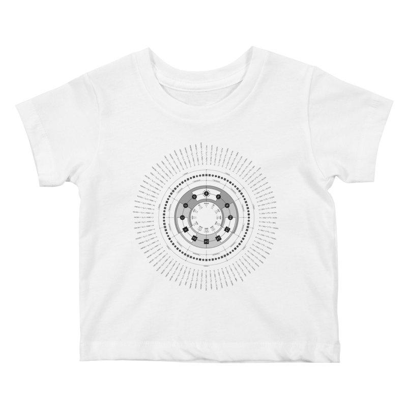 The Circle of Fifths - T-Shirt Kids Baby T-Shirt by Greg Aranda's Shop