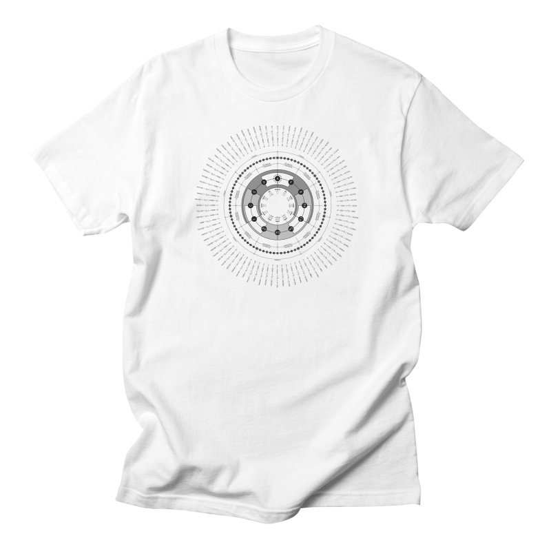 The Circle of Fifths - T-Shirt Men's T-Shirt by Greg Aranda's Shop