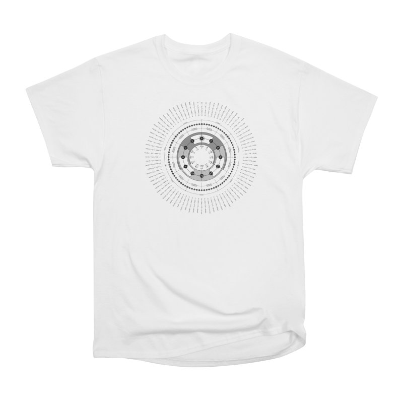The Circle of Fifths - T-Shirt Men's Heavyweight T-Shirt by Greg Aranda's Shop