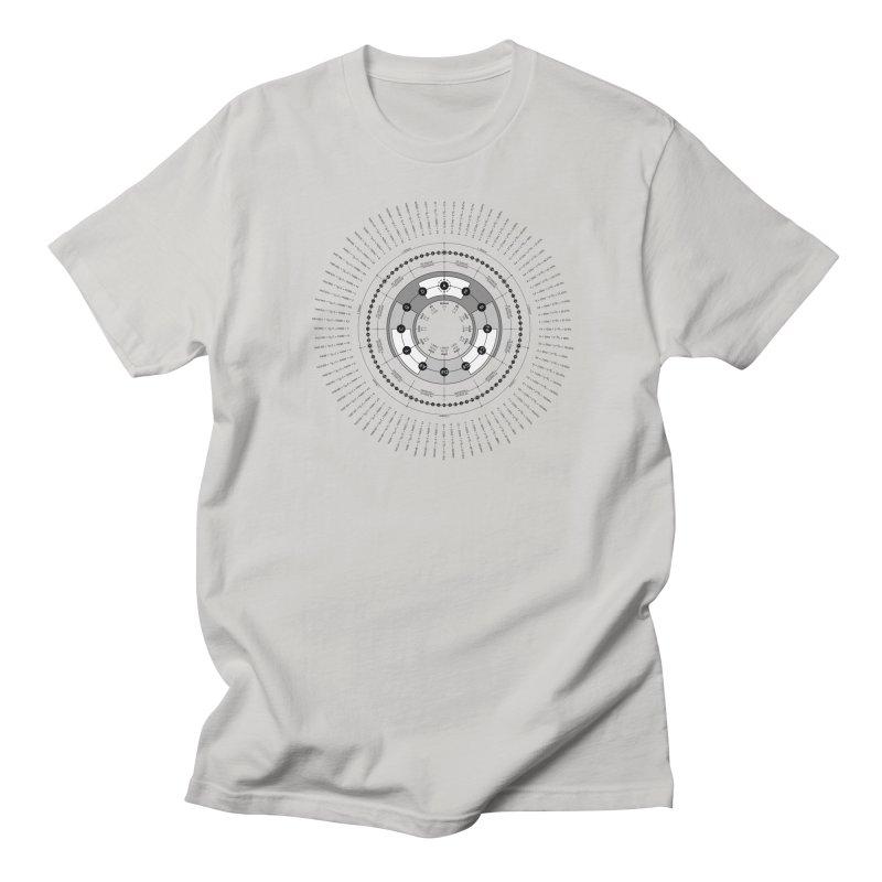 The Circle of Fifths - T-Shirt Men's Regular T-Shirt by Greg Aranda's Shop