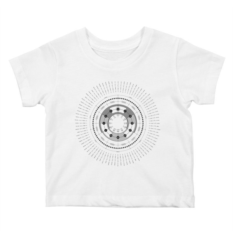 The Circle of Fifths - T-Shirt Kids Baby T-Shirt by Greg Aranda's Shop