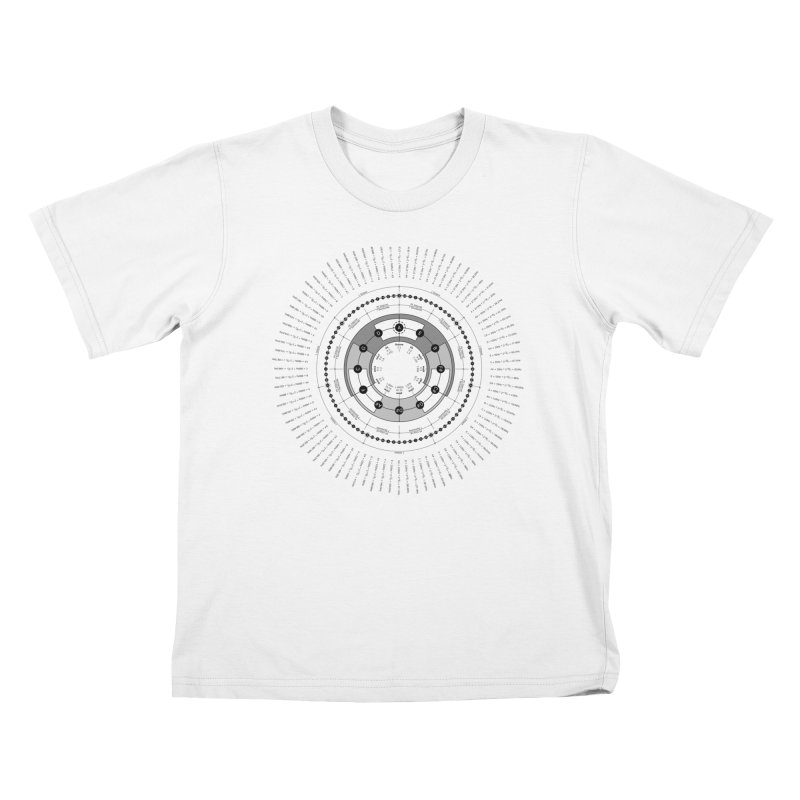 The Circle of Fifths - T-Shirt Kids T-Shirt by Greg Aranda's Shop