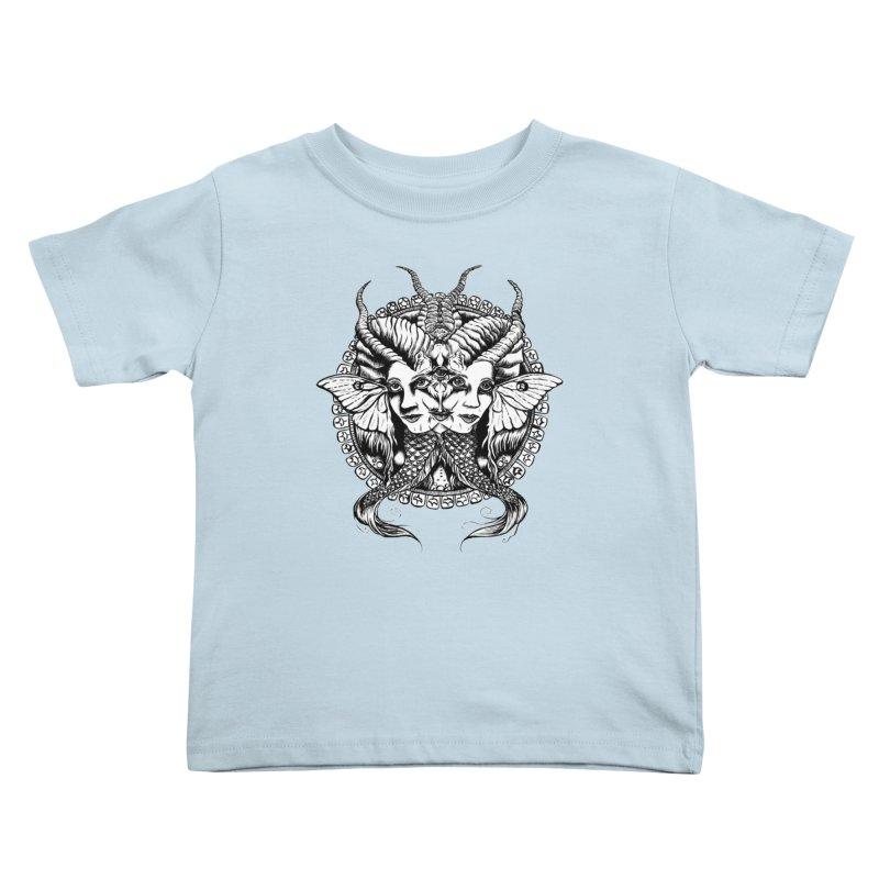 Sirens Kids Toddler T-Shirt by Gregery Miller's Art Shop