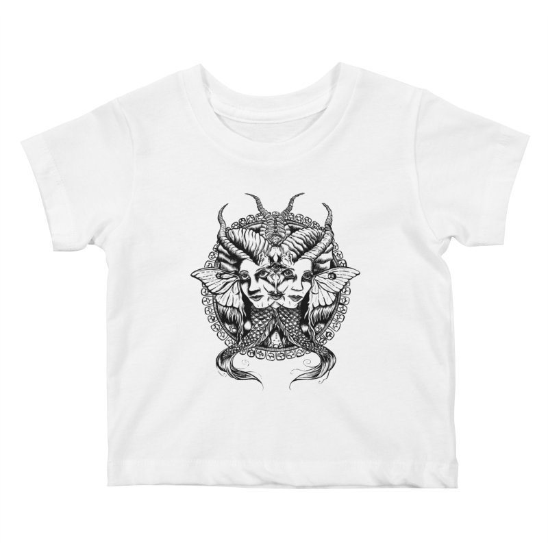 Sirens Kids Baby T-Shirt by Gregery Miller's Art Shop