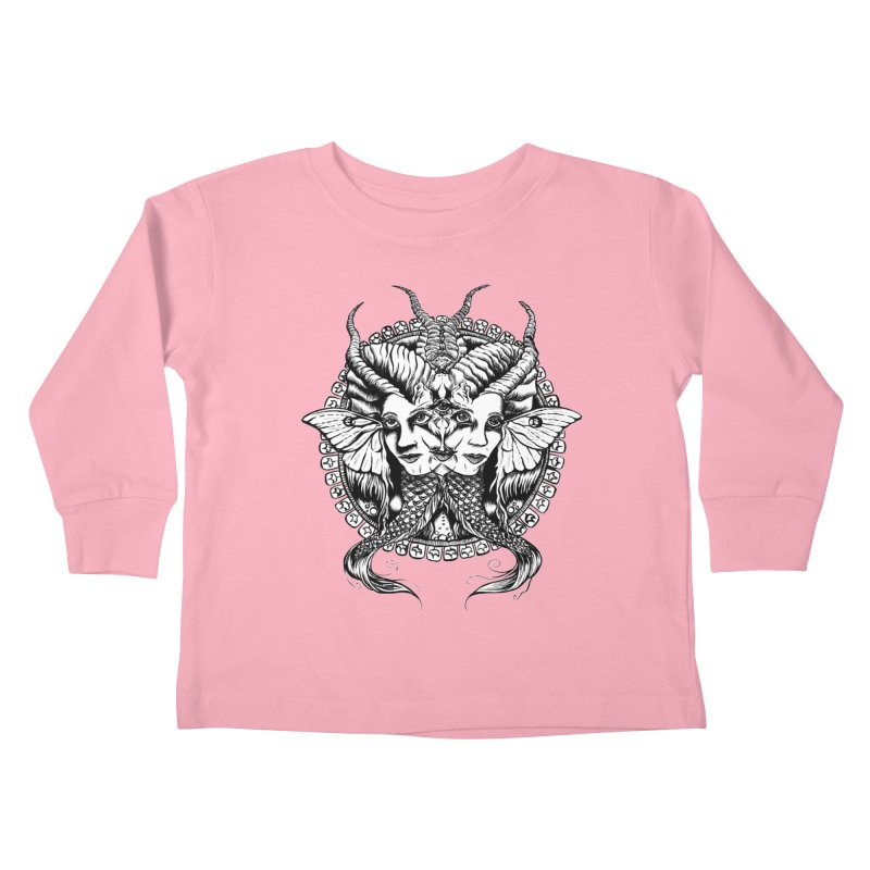 Sirens Kids Toddler Longsleeve T-Shirt by Gregery Miller's Art Shop