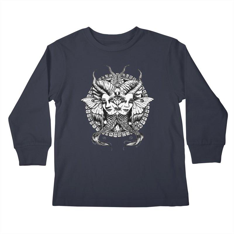 Sirens Kids Longsleeve T-Shirt by Gregery Miller's Art Shop