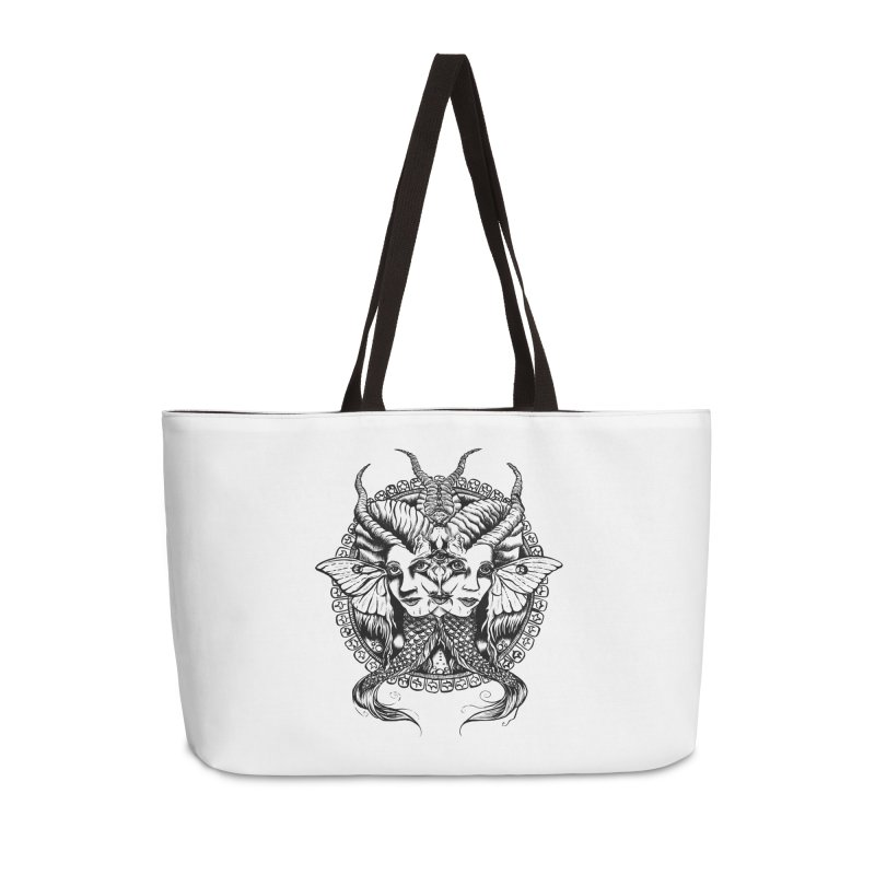 Sirens Accessories Bag by Gregery Miller's Art Shop