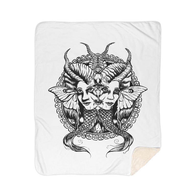 Sirens Home Blanket by Gregery Miller's Art Shop