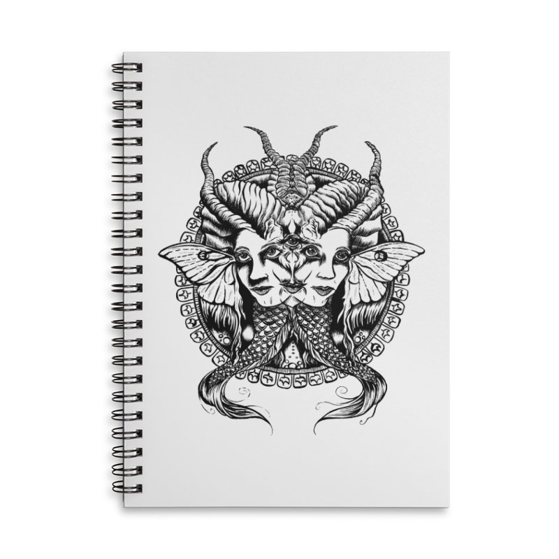 Sirens Accessories Notebook by Gregery Miller's Art Shop