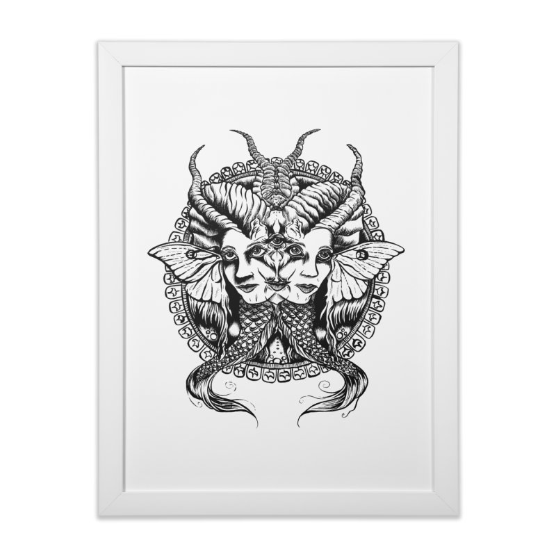 Sirens Home Framed Fine Art Print by Gregery Miller's Art Shop
