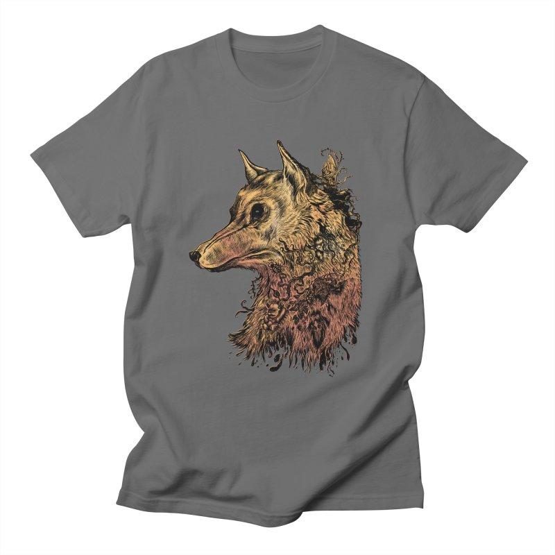 Wolf Spirit Men's T-Shirt by Gregery Miller's Art Shop