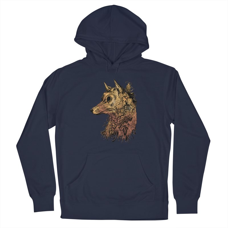 Wolf Spirit Men's Pullover Hoody by Gregery Miller's Art Shop