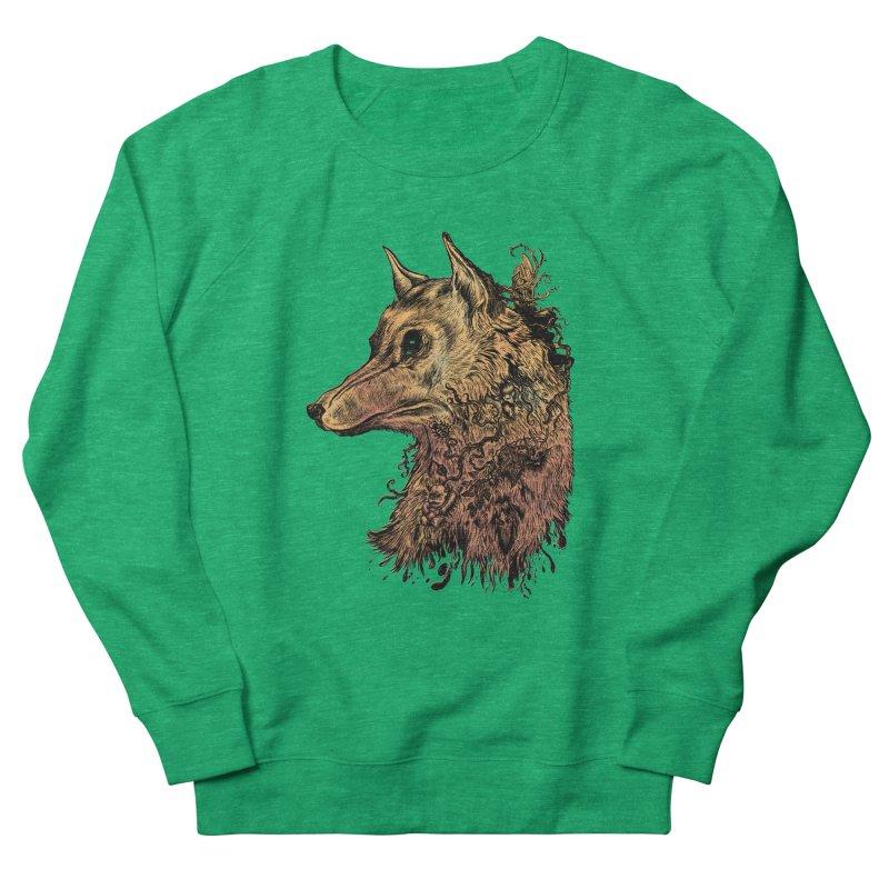 Wolf Spirit Men's Sweatshirt by Gregery Miller's Art Shop