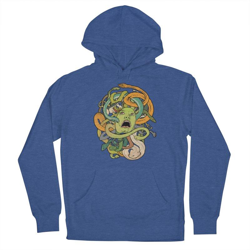 Medusa Men's Pullover Hoody by Gregery Miller's Art Shop