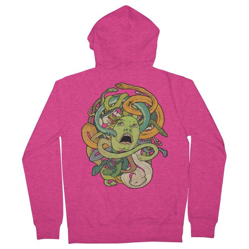 Medusa Women's Zip-Up Hoody by Gregery Miller's Art Shop