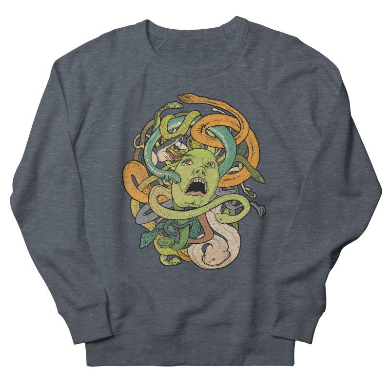 Medusa Women's Sweatshirt by Gregery Miller's Art Shop