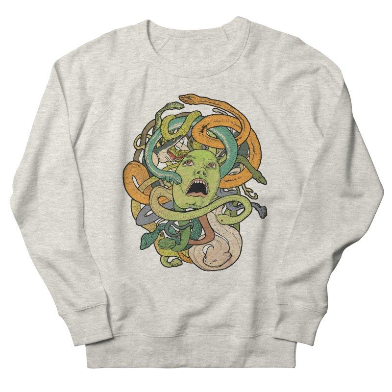 Medusa Men's Sweatshirt by Gregery Miller's Art Shop