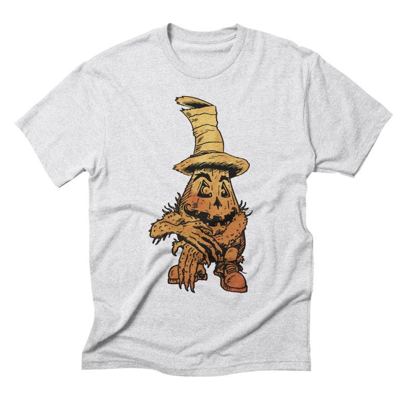 Pumpkin Head Men's T-Shirt by Gregery Miller's Art Shop
