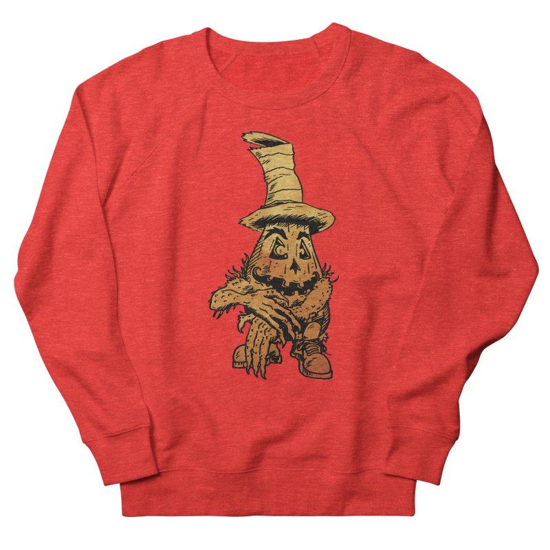 Pumpkin Head Women's Sweatshirt by Gregery Miller's Art Shop