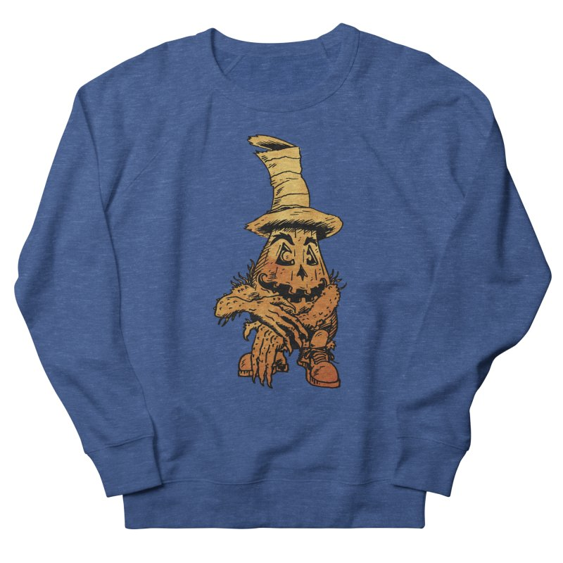 Pumpkin Head Men's Sweatshirt by Gregery Miller's Art Shop