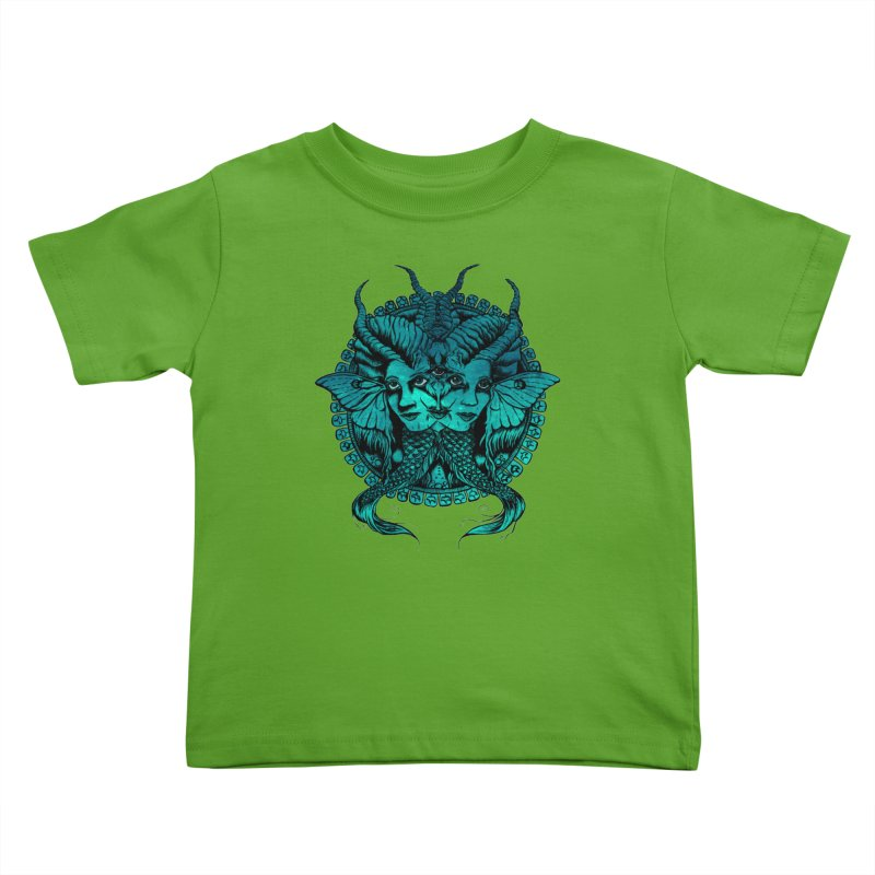 The Sirens Kids Toddler T-Shirt by Gregery Miller's Art Shop