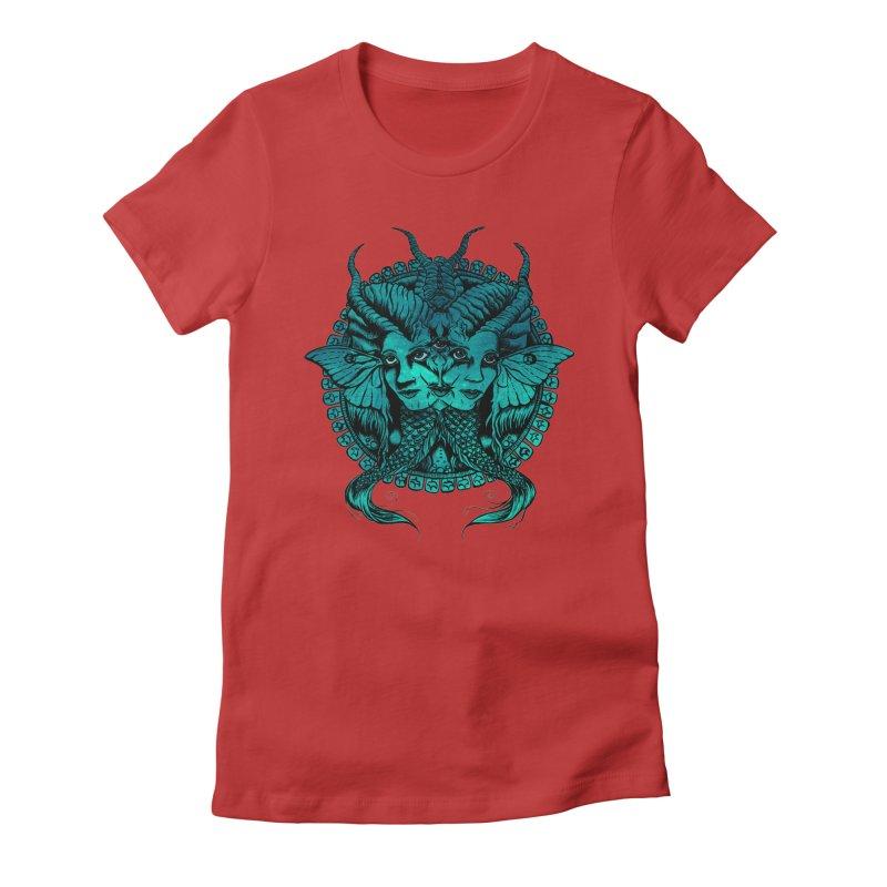 The Sirens Women's T-Shirt by Gregery Miller's Art Shop