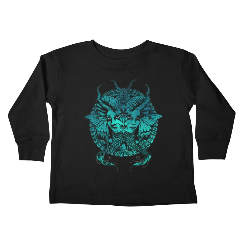The Sirens Kids Toddler Longsleeve T-Shirt by Gregery Miller's Art Shop