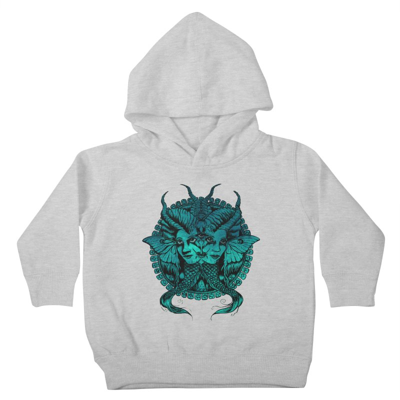 The Sirens Kids Toddler Pullover Hoody by Gregery Miller's Art Shop