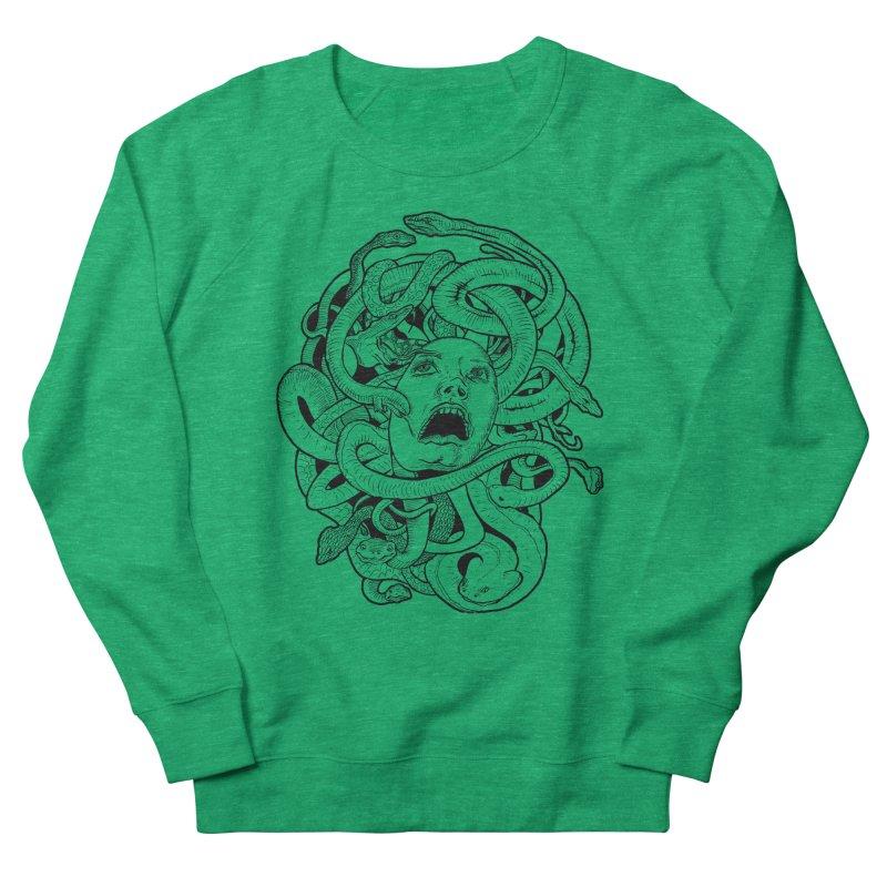 Medusa Variant Women's Sweatshirt by Gregery Miller's Art Shop