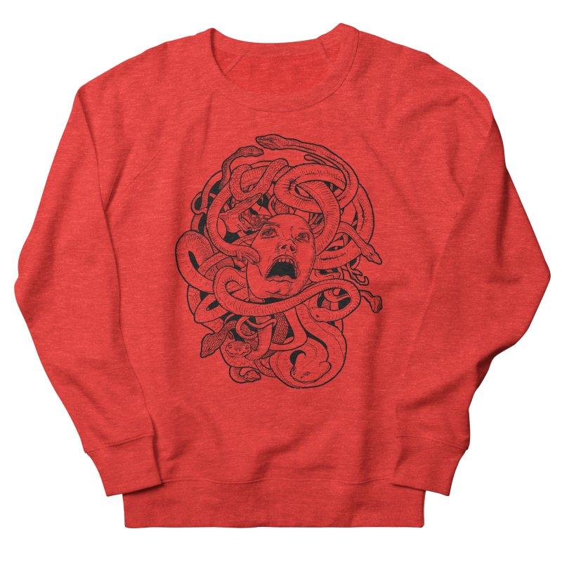 Medusa Variant Men's Sweatshirt by Gregery Miller's Art Shop