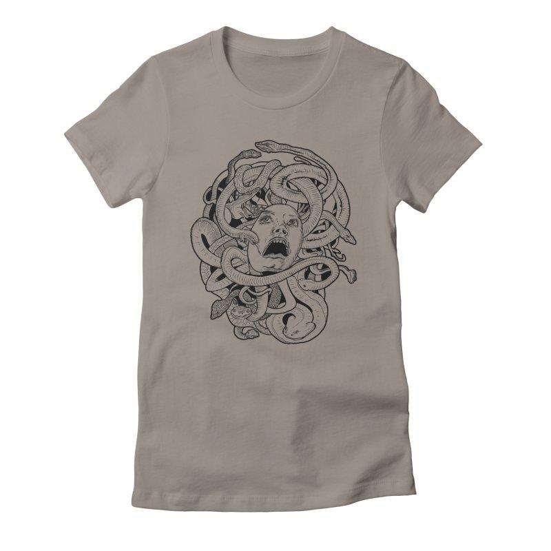 Medusa Variant Women's T-Shirt by Gregery Miller's Art Shop