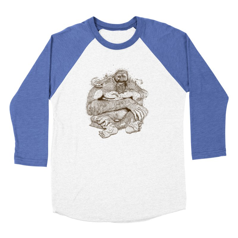 Sasquatch Men's Longsleeve T-Shirt by Gregery Miller's Art Shop