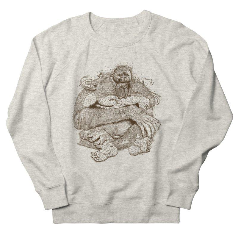 Sasquatch Women's Sweatshirt by Gregery Miller's Art Shop