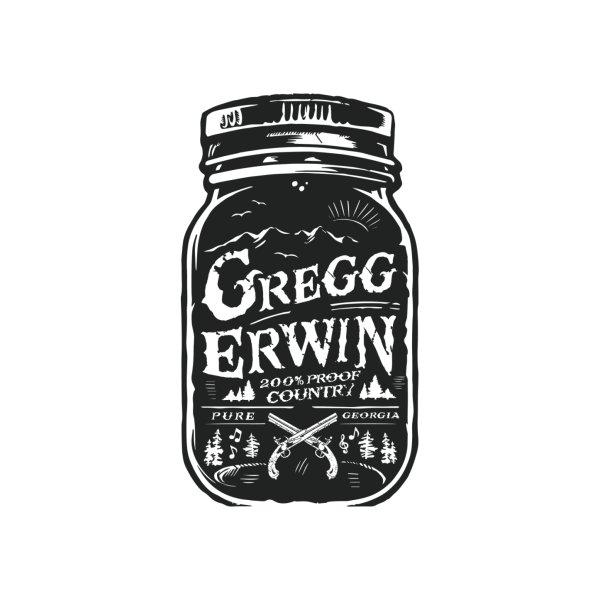 image for Gregg Erwin 200 Proof Black Moonshine Jar