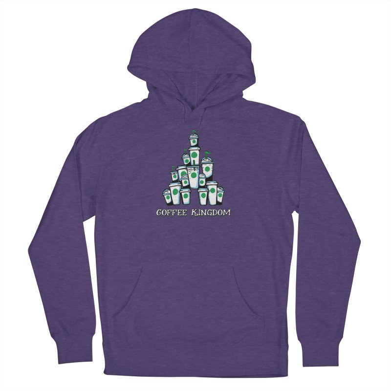 Coffee Kingdom Women's French Terry Pullover Hoody by Greg Gosline Design Co.